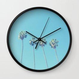 Blue Paradise Wall Clock