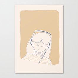 Playlist Canvas Print