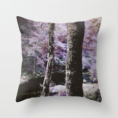 Violet Autumn  Throw Pillow