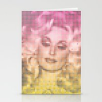 dolly parton Stationery Cards featuring Dolly Dots by Hoeling