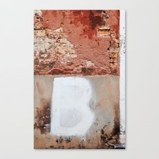 BBBB Canvas Print