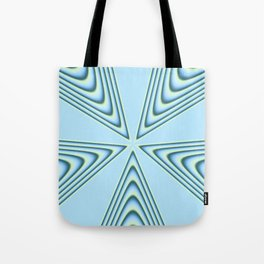 Linear Waves in MWY 01 Tote Bag