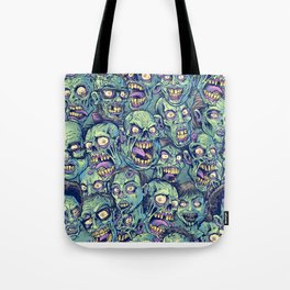 Zombie Repeatable Pattern Tote Bag
