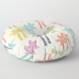 Palm Tree Pattern 22 Floor Pillow