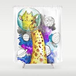 giraspace Shower Curtain