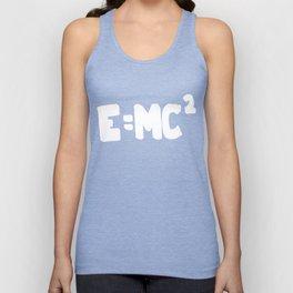 E=MC 2 Unisex Tank Top