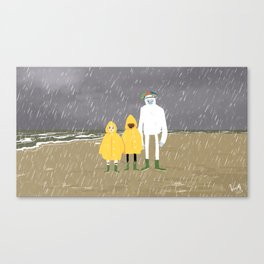 Dutch weather Canvas Print