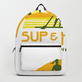 SUP and Kayak Water Sports Retro Backpack