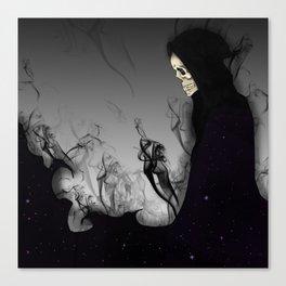 Death Galaxy Canvas Print