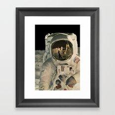 LIFE MAGAZINE: Moon Landing Framed Art Print