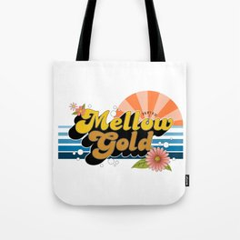 Mellow Gold Tote Bag