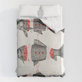 Sashimi All Duvet Cover