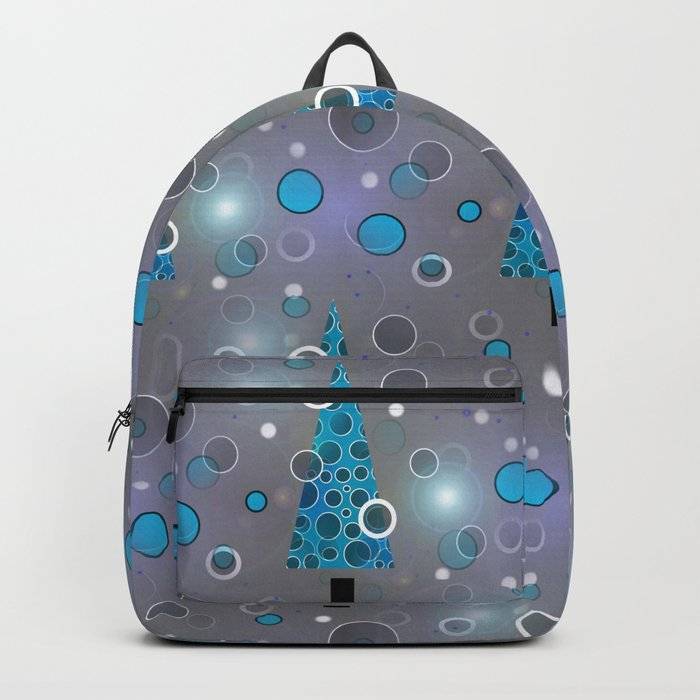 Blue Christmas Backpack