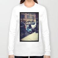 vespa Long Sleeve T-shirts featuring Vespa by Alissa Fleck