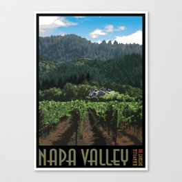 Napa Valley - Far Niente Winery - Oakville District Canvas Print