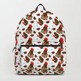 Festive Capybaras Backpack