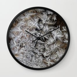 Ice | Glace 1 Wall Clock