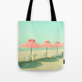 Pink Row II Tote Bag
