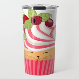 Pinkberry Cuppycat Travel Mug