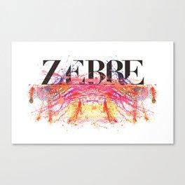 Zebre Canvas Print