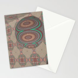 Pallid Minty Dimensions 17 Stationery Cards