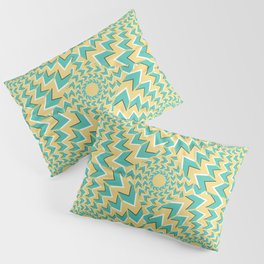 Optical illusion texture pattern Pillow Sham