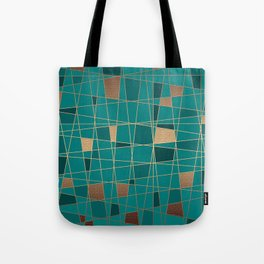 Abstract geometric pattern 11 Tote Bag