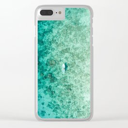 PADDLEBOARD Clear iPhone Case
