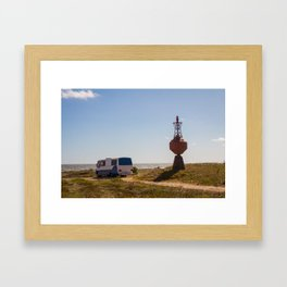 Motor Home Framed Art Print
