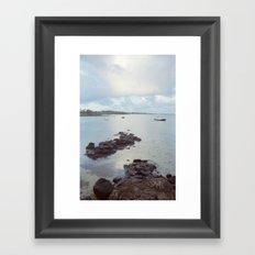 Sunrise in Mauritius Framed Art Print