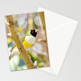 Peaceful Gouldian Stationery Cards