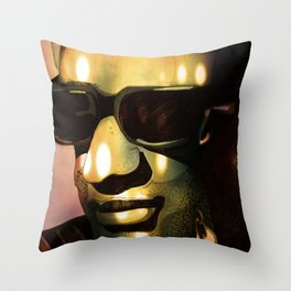 Hit The Road Jack Throw Pillow