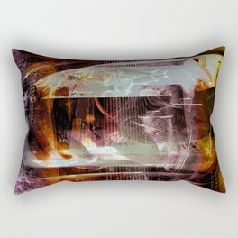 """""""Midnight Run: Atlantis"""" Rectangular Pillow"""