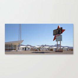Roy's Motel and Cafe Canvas Print