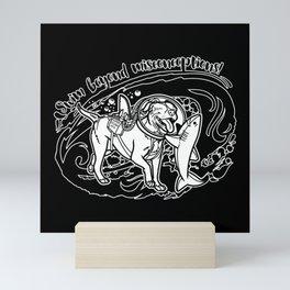 (v3) Swim Beyond Misconceptions Mini Art Print