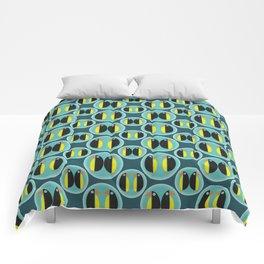 Penguin Bubbles Comforters