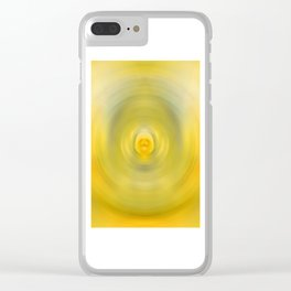 Luscious Lemon - Abstract Art By Sharon Cummings Clear iPhone Case