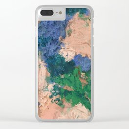 Rose Flowers Clear iPhone Case