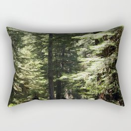 Humboldt State Park Road Rectangular Pillow