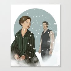 North and South Canvas Print