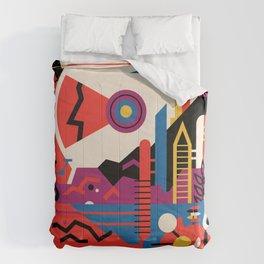 Retro Mars Vacation Ad from NASA Comforters