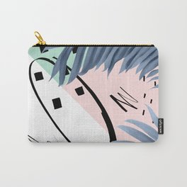 Summer Palms Cali Vibes Abstract Glam #1 #tropical #decor #art #society6 Carry-All Pouch