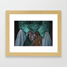 Toiled Framed Art Print