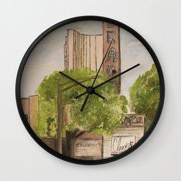 Inland Empire Drawing 4 Wall Clock
