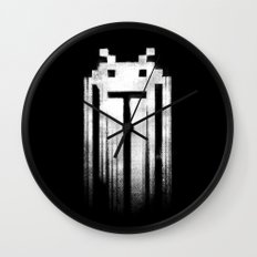 Space Punisher I Wall Clock
