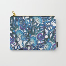 Riptide_blue Carry-All Pouch
