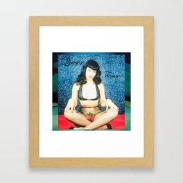 Queer Femme Bettie Framed Art Print
