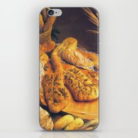 bread iPhone & iPod Skins featuring Bread by Richard McGee