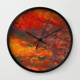 Deranged Wall Clock
