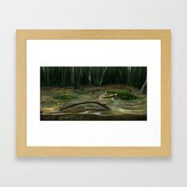 Calm Water Framed Art Print